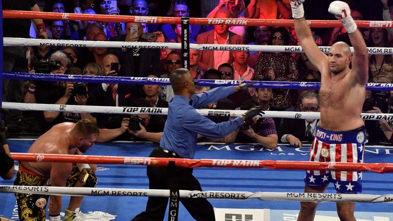 Tyson Fury is still unbeaten in 29 fights