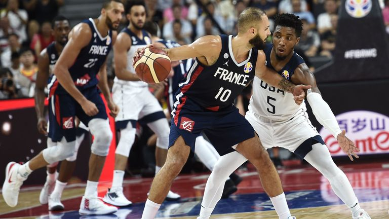 France advance to the semi-final where they will face