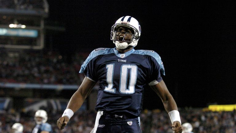 Vince Young was selected third overall in the 2006 NFL Draft by the Tennessee Titans