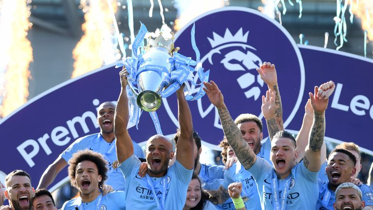 Vincent Kompany left Manchester City in the summer after lifting the Premier League trophy for a fourth time