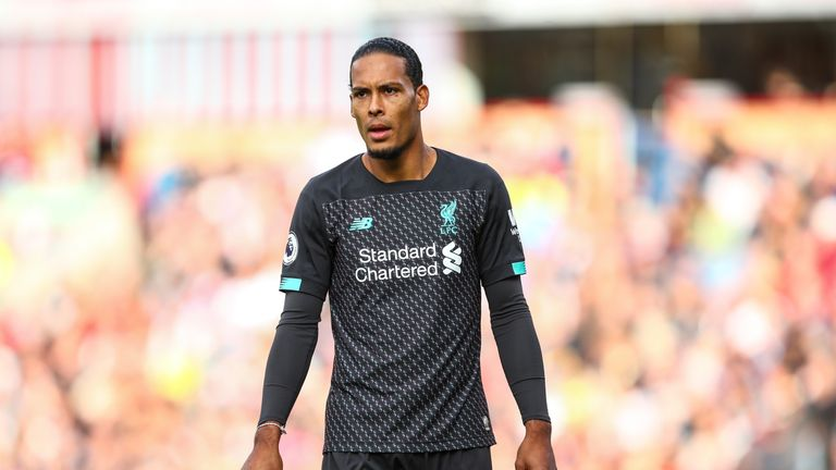 Virgil van Dijk helped Liverpool to a second clean sheet in the Premier League