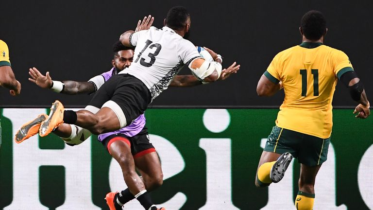 When Waisea Nayacalevu went over in the second half for a score, an upset looked on the cards