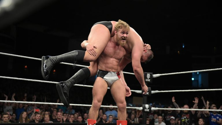 The match between Dunne's great friend Tyler Bate and WALTER at NXT UK TakeOver captured the imagination of the wrestling world