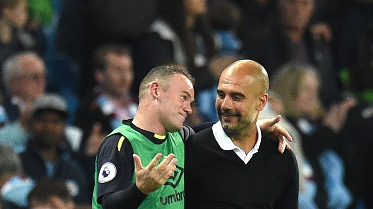 Wayne Rooney is a big admirer of Pep Guardiola