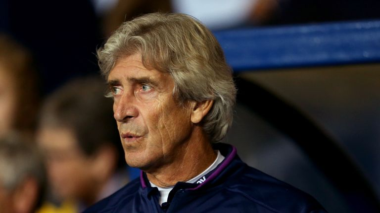 West Ham United manager Manuel Pellegrini before the Carabao Cup, Third Round match at Oxford