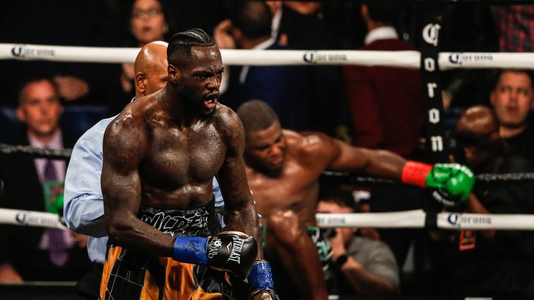 Wilder came through a difficult first fight with Ortiz