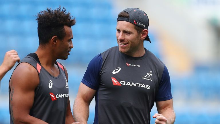 Australia will hope the duo can improve on an unconvincing opening performance against Fiji