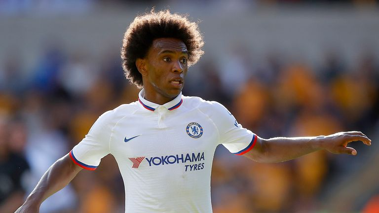 Willian likes the 'freedom' Lampard offers Chelsea