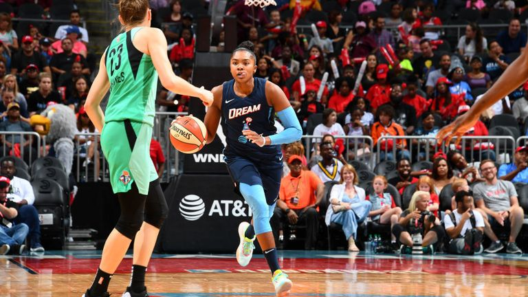Delle Donne first in WNBA to join 50-40-90 club