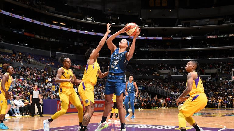 WNBA: Kelsey Mitchell sets record as Indiana Fever cruise to win at Sun | NBA News |