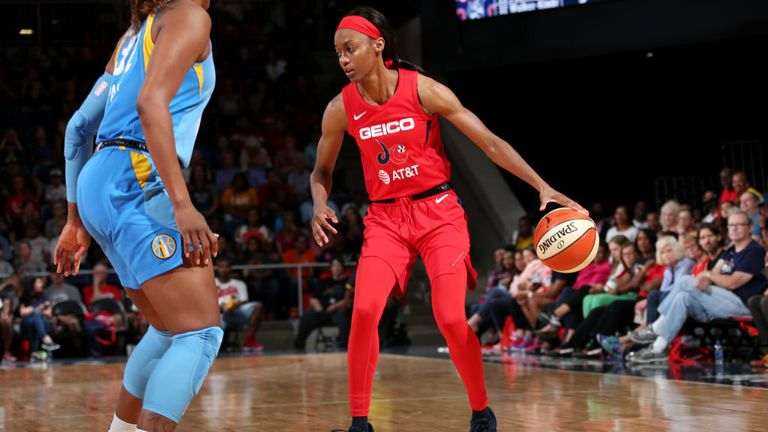 WNBA Washington Mystics Chicago Sky