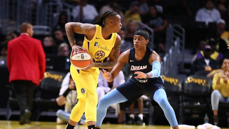 Atlanta Dream v Los Angeles Sparks in the WNBA