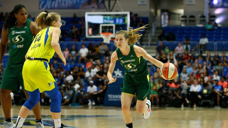 Seattle Storm Dallas Wings WNBA