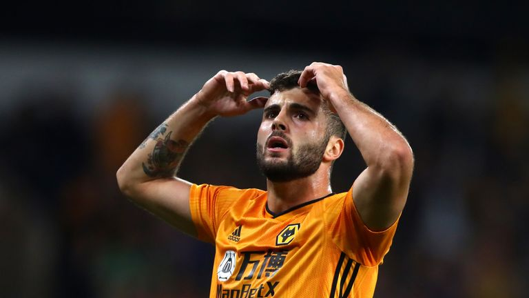 Patrick Cutrone in action for Wolves