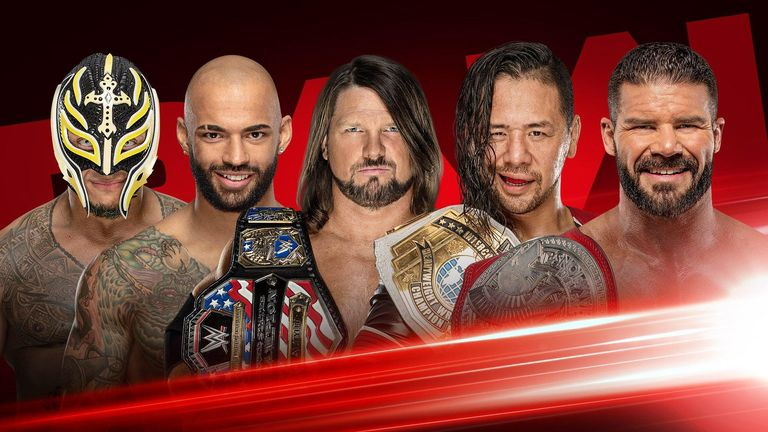 WWE Universal Title Match Set For RAW Next Week