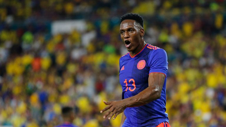 Mina is currently away on international duty with Colombia