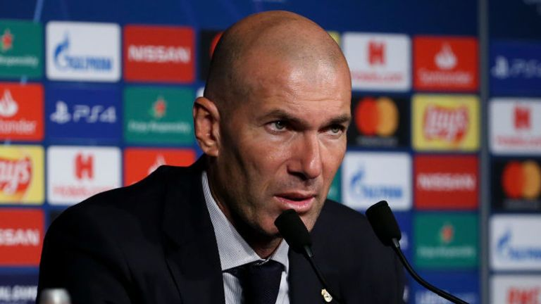 Mourinho is reportedly the preferred choice to replace Zinedine Zidane at Real Madrid.