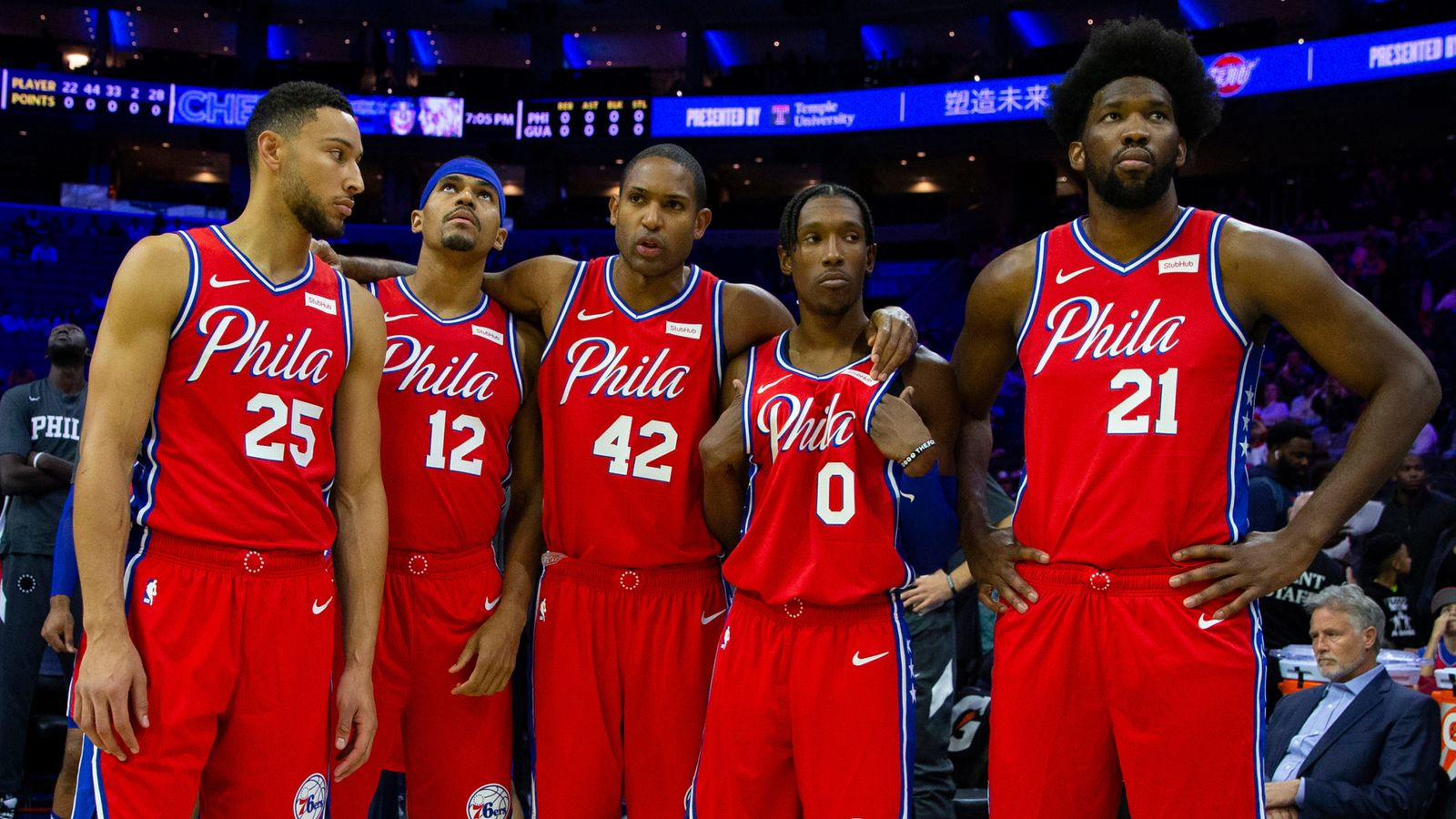 Philadelphia 76ers build gigantic defensive foundation to keep pace at top of the East