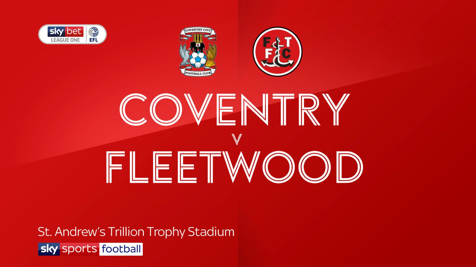 Coventry 2-1 Fleetwood: Sky Blues back to winning ways