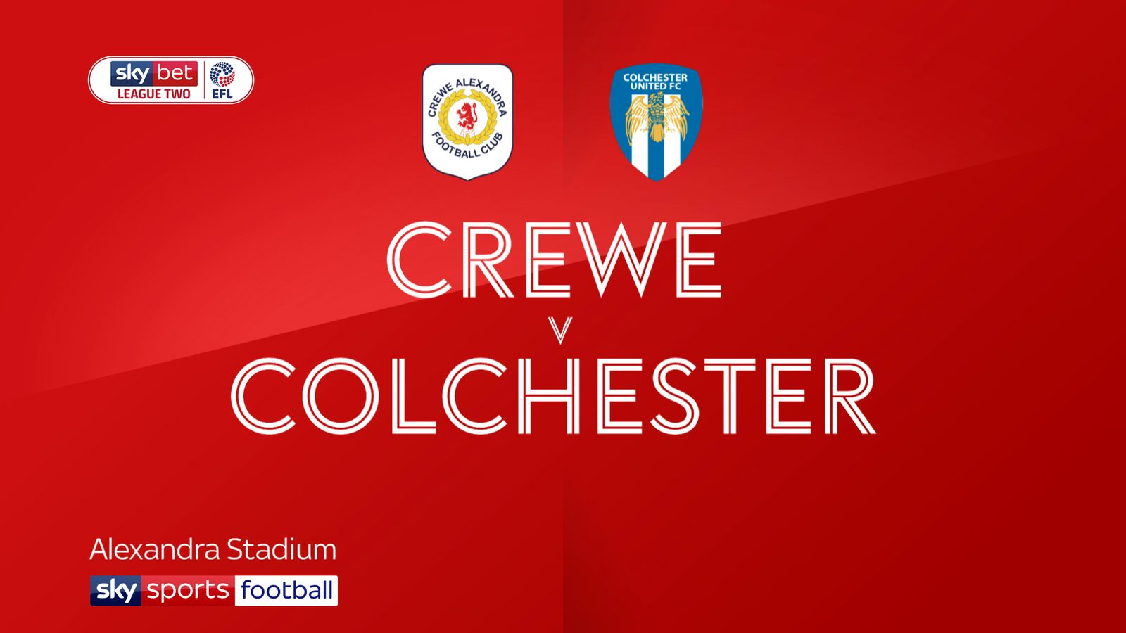 Crewe 0-0 Colchester: Leaders survive late scare at Gresty Road