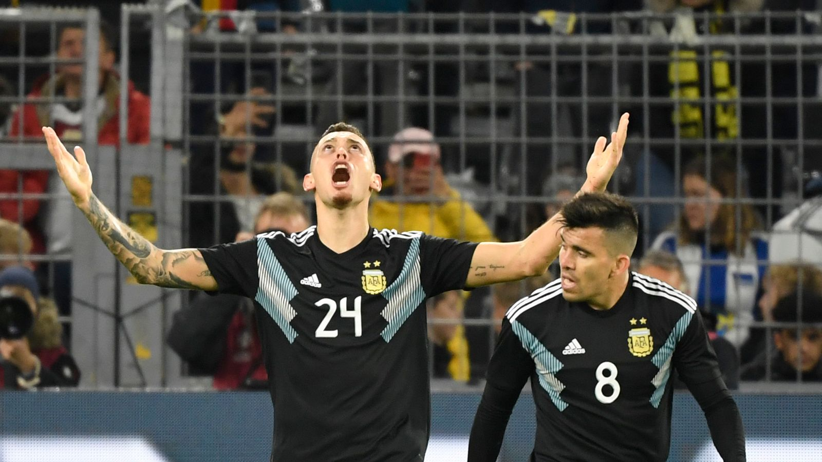 Germany 2-2 Argentina: Second-half comeback sees visitors draw friendly