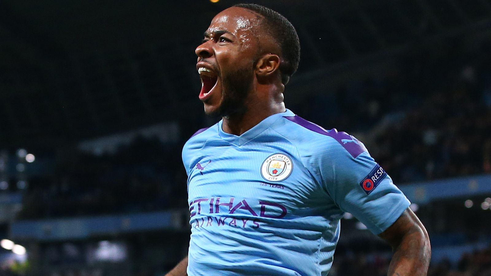 Man City 5-1 Atalanta: Raheem Sterling scores quickfire hat-trick