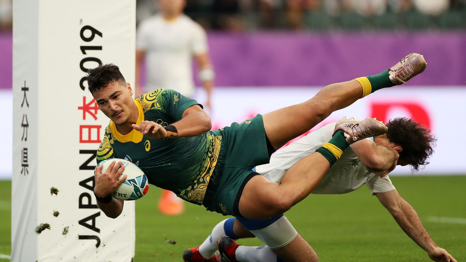 Wallabies centre Jordan Petaia ruled out of rest of Super Rugby season