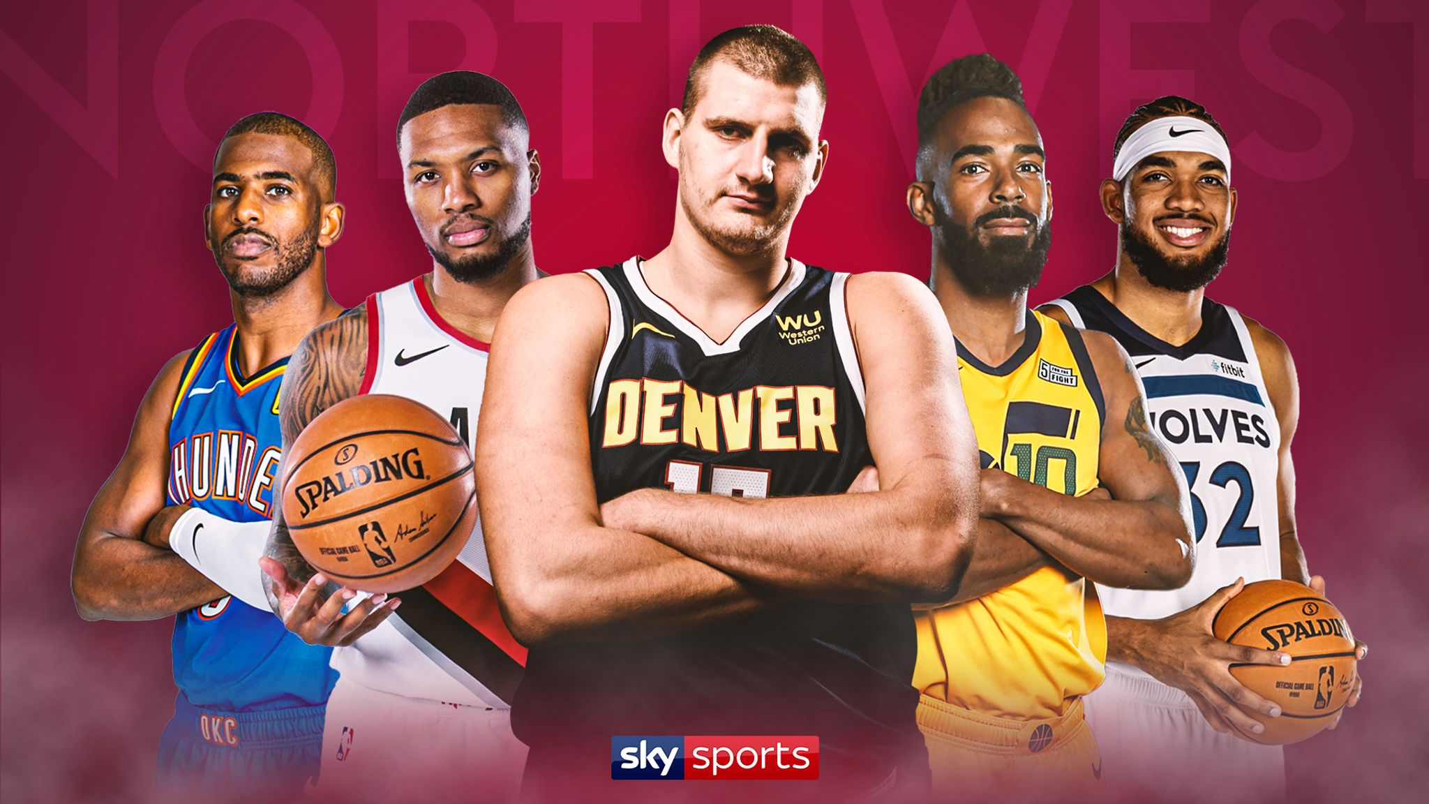 Mike Tuck's Northwest Division preview: Denver Nuggets, Portland Trail Blazers, Utah Jazz, Oklahoma City Thunder, Minnesota Timberwolves