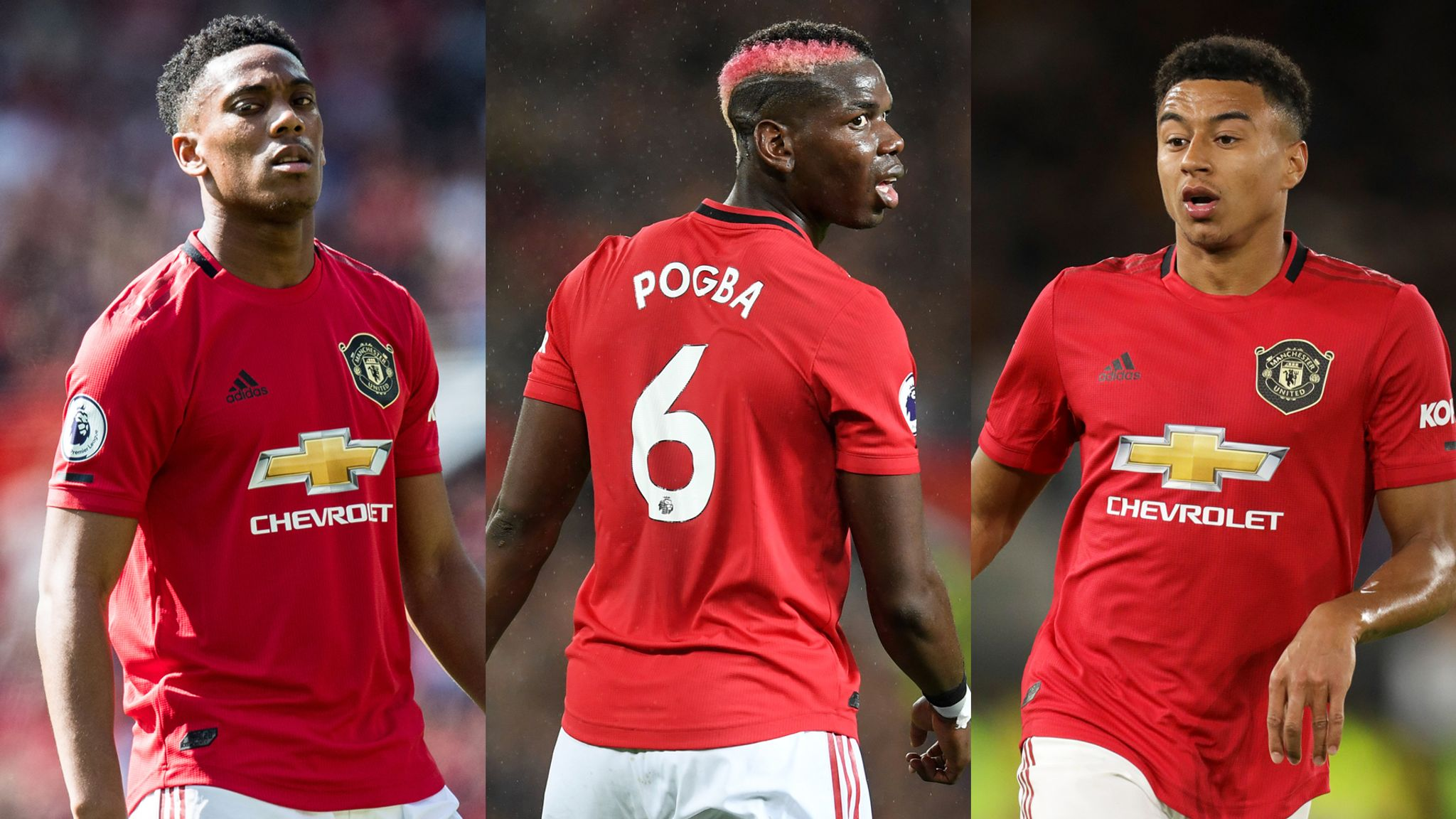 Which Manchester United Players Will Be Fit For Liverpool Football News Sky Sports