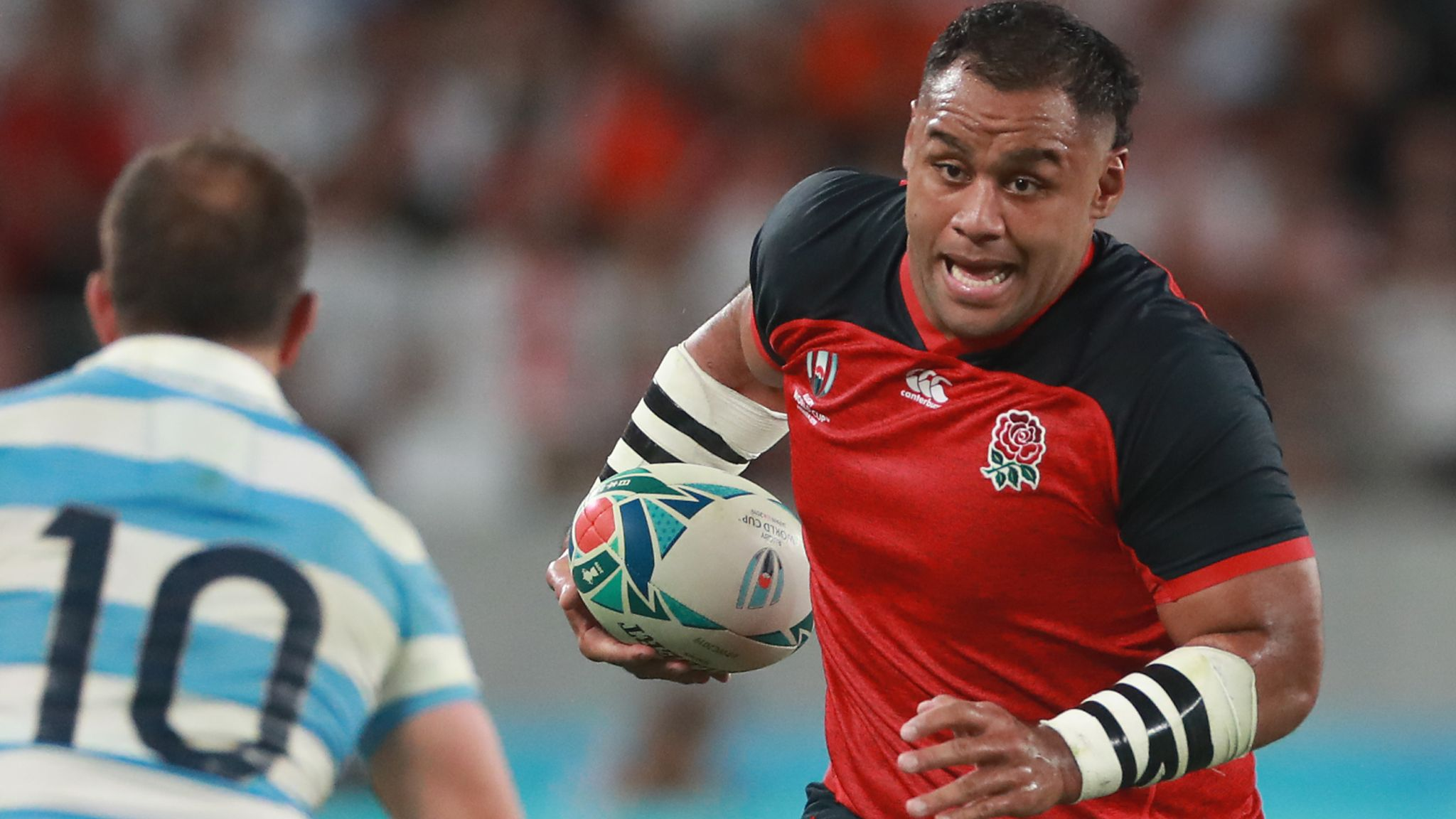 Billy Vunipola fit for England's World Cup quarter-final with Australia