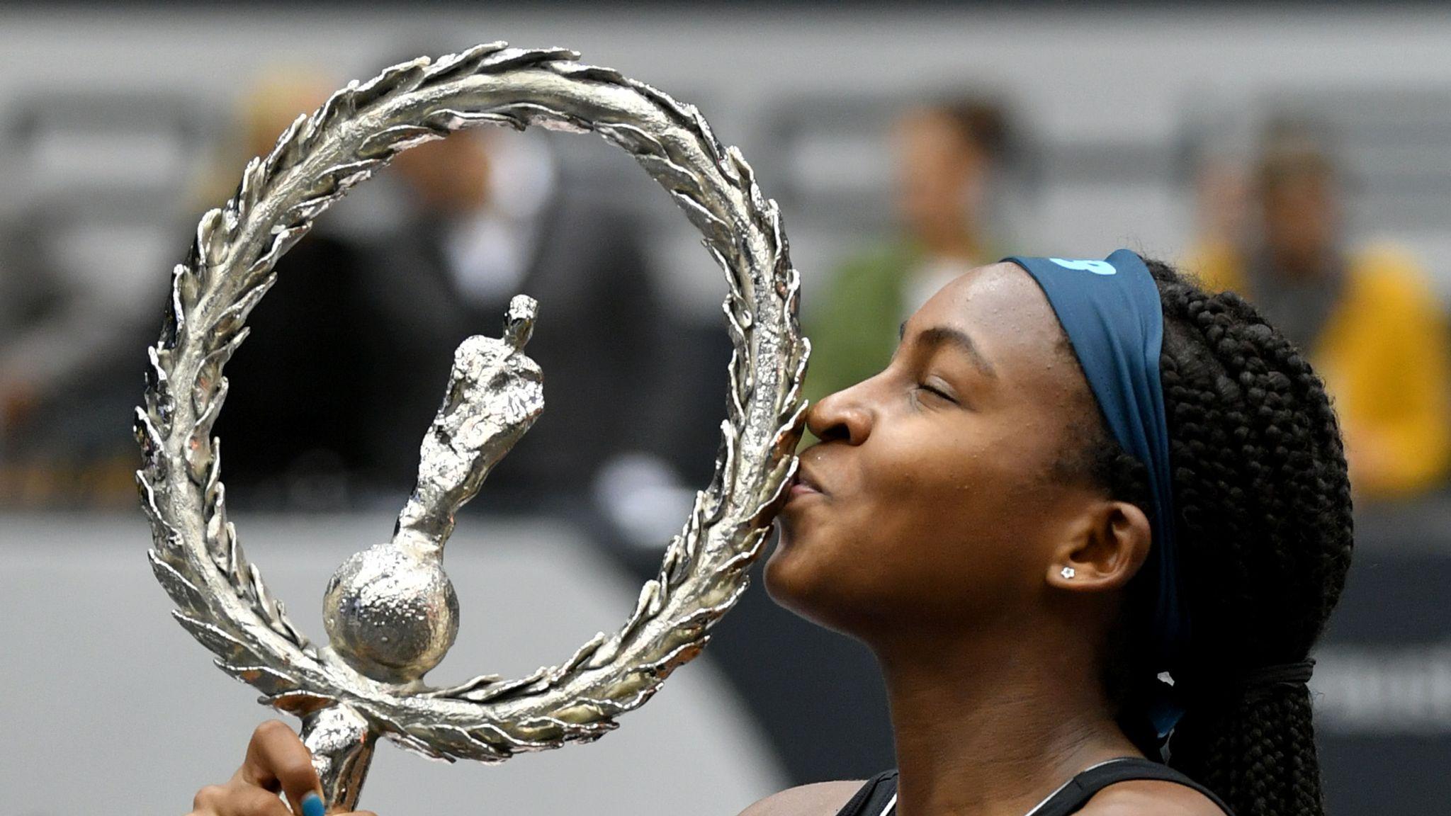 Coco Gauff wins first WTA title at Upper Austria Ladies Linz