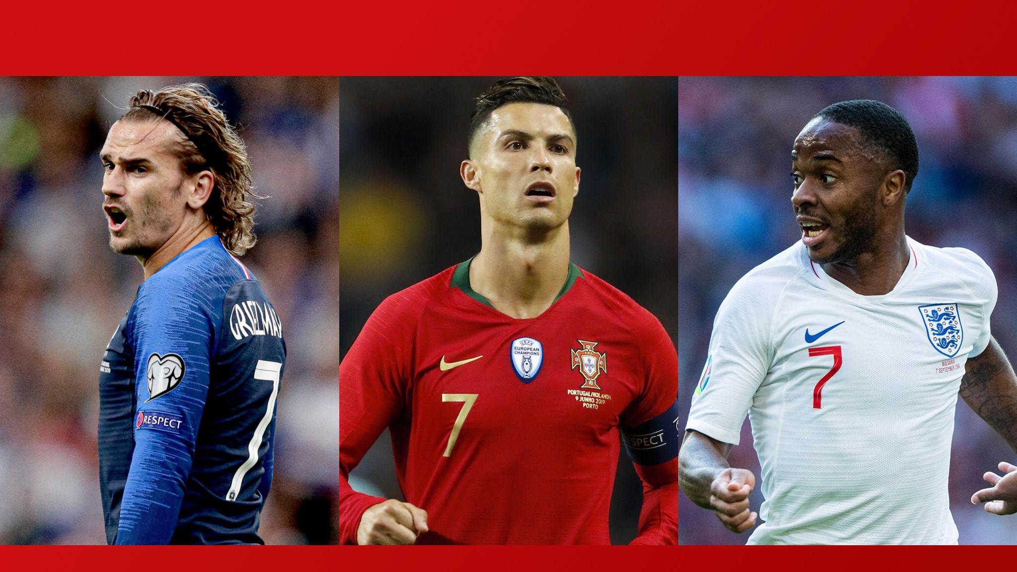 European Qualifiers On Sky Ukraine Vs Portugal France Vs Turkey Football News Sky Sports