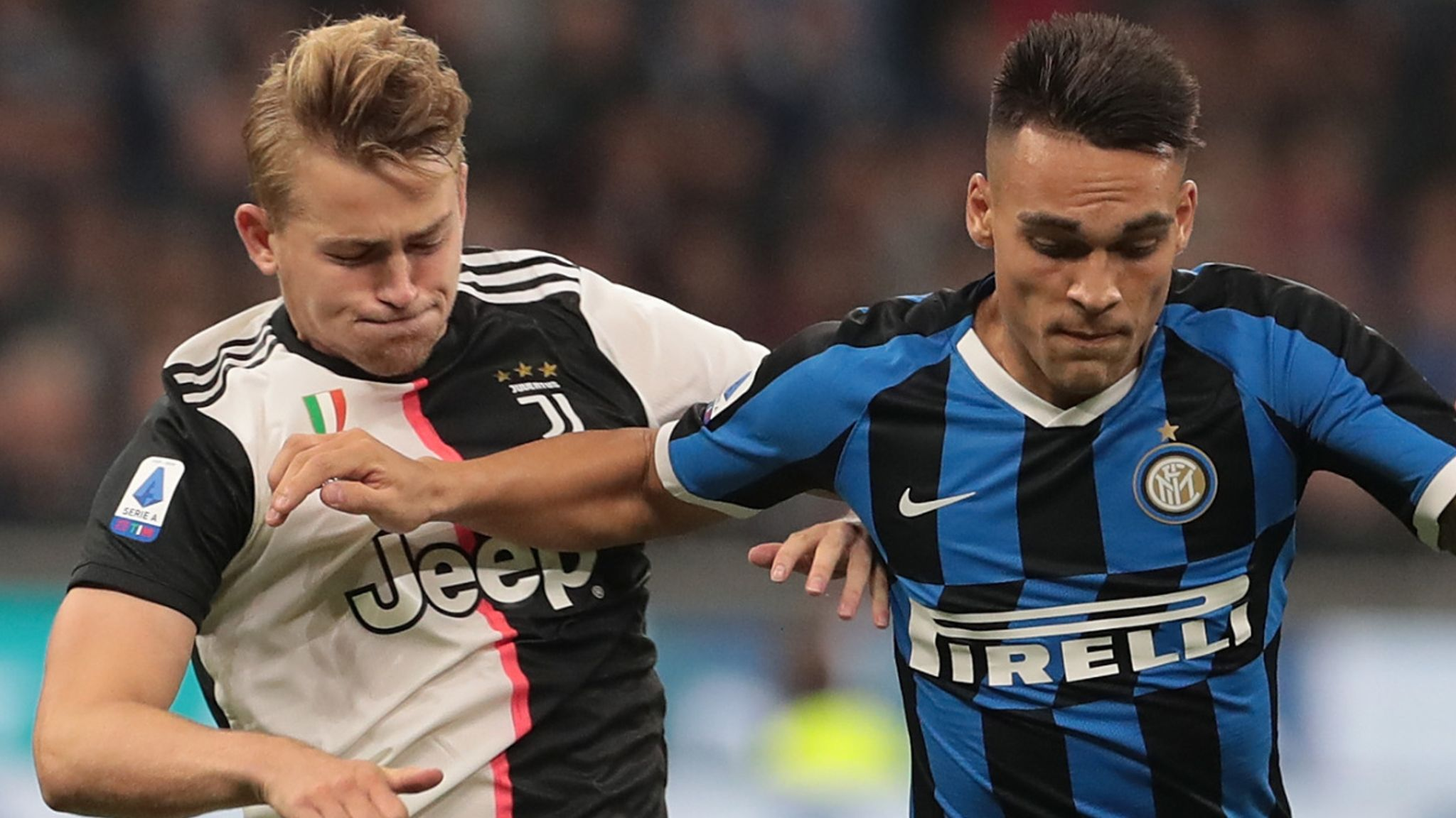 Coronavirus Juventus Vs Inter Milan Among Five Serie A Matches To Be Played Behind Closed Doors Football News Sky Sports