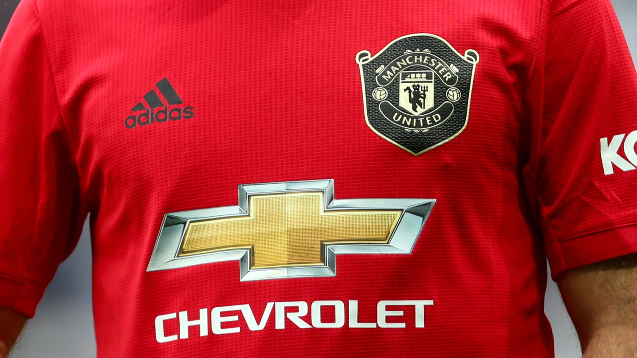 Manchester United In Talks For New Shirt Sponsorship Deal From 2021 Football News Sky Sports
