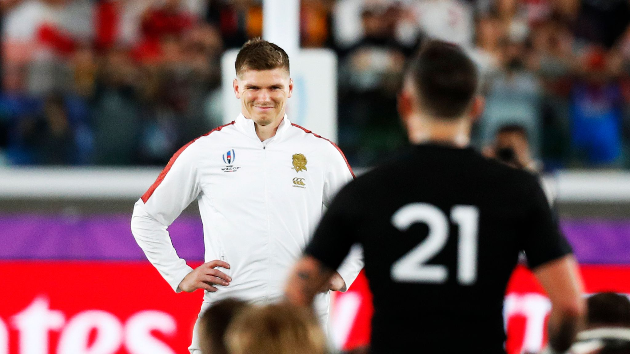Rugby World Cup England Could Be Fined For Haka Response In Semi Final Win Over New Zealand Rugby Union News Sky Sports