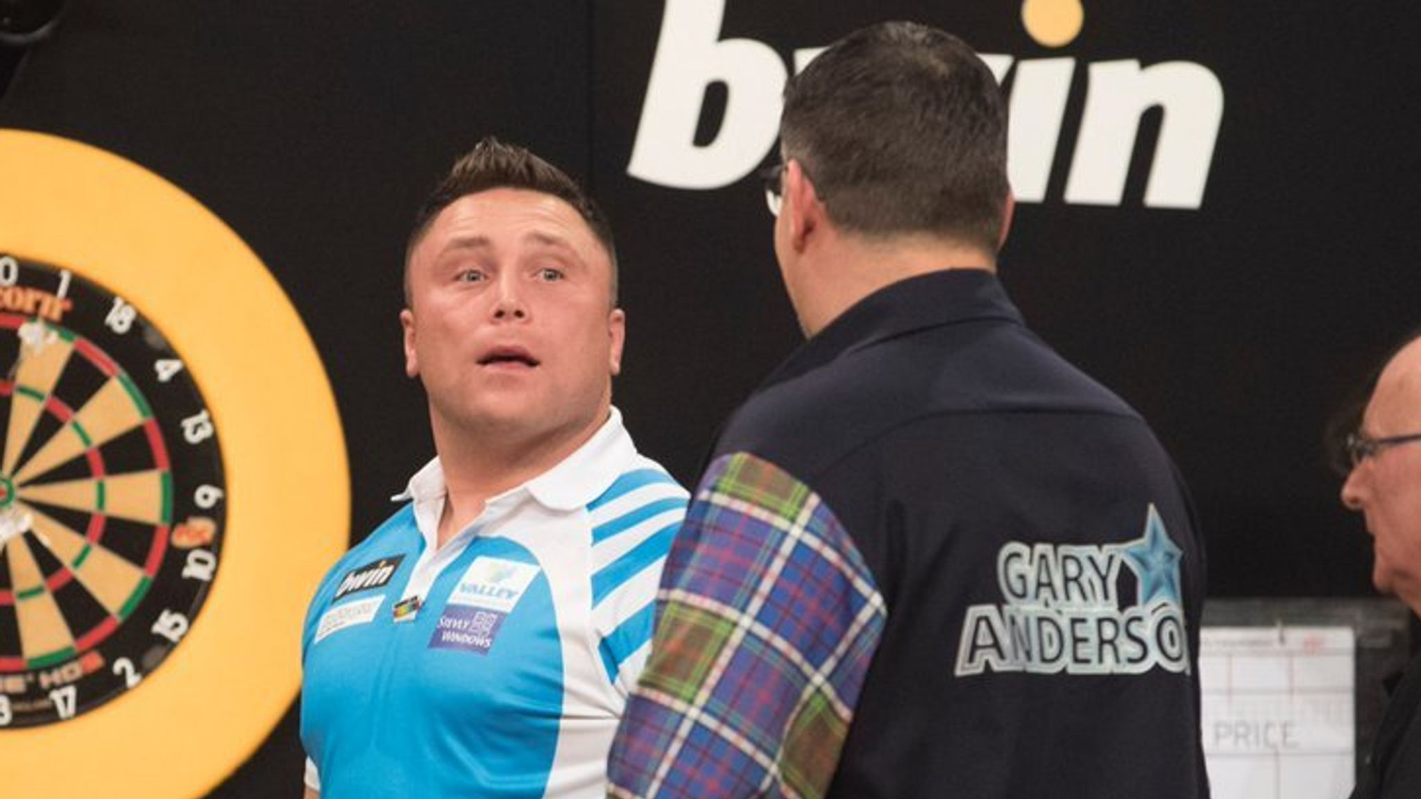 Gerwyn Price vs Gary Anderson: Fireworks expected in Grand Slam rematch