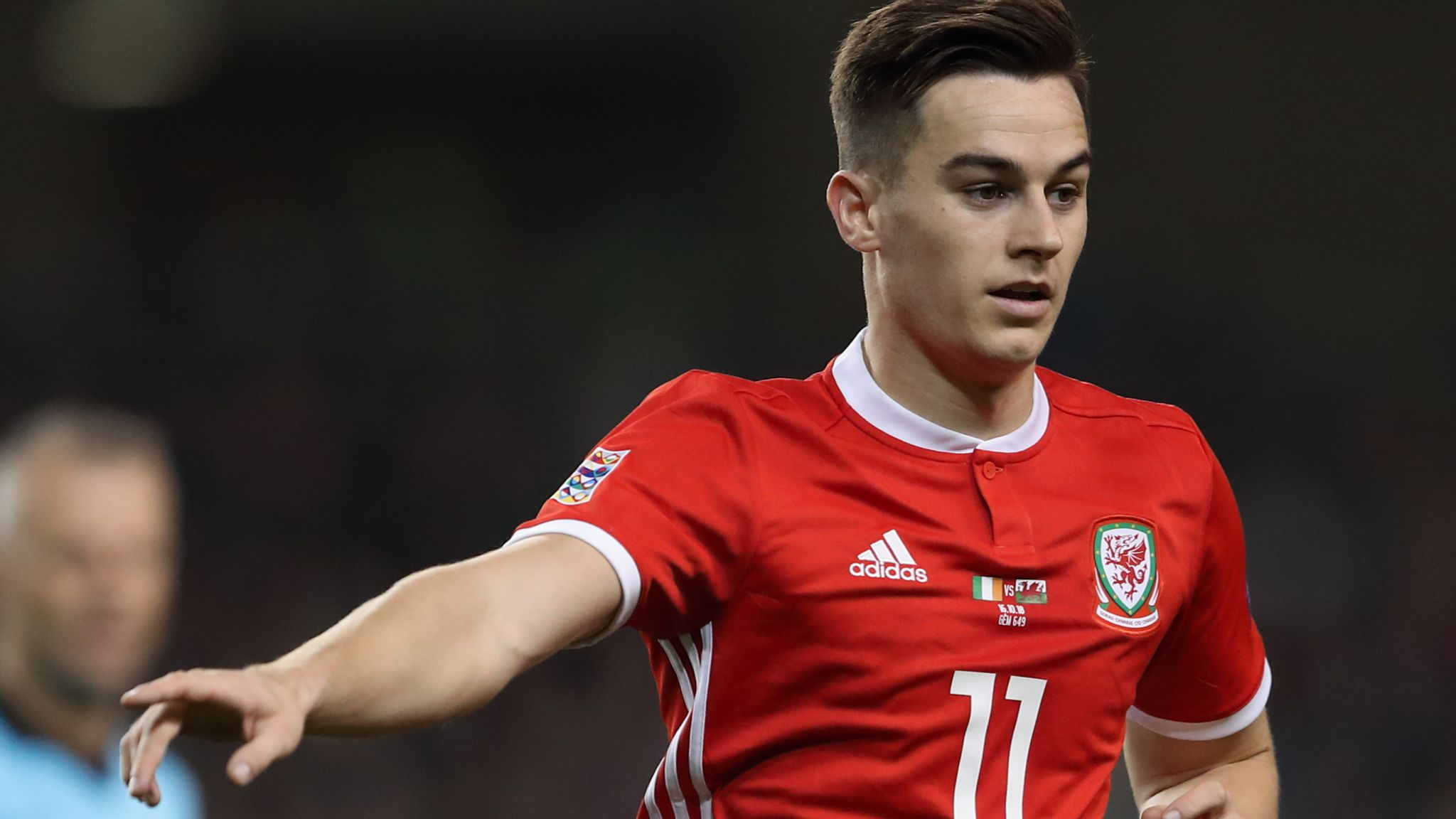 Tom Lawrence withdraws from Wales squad due to illness