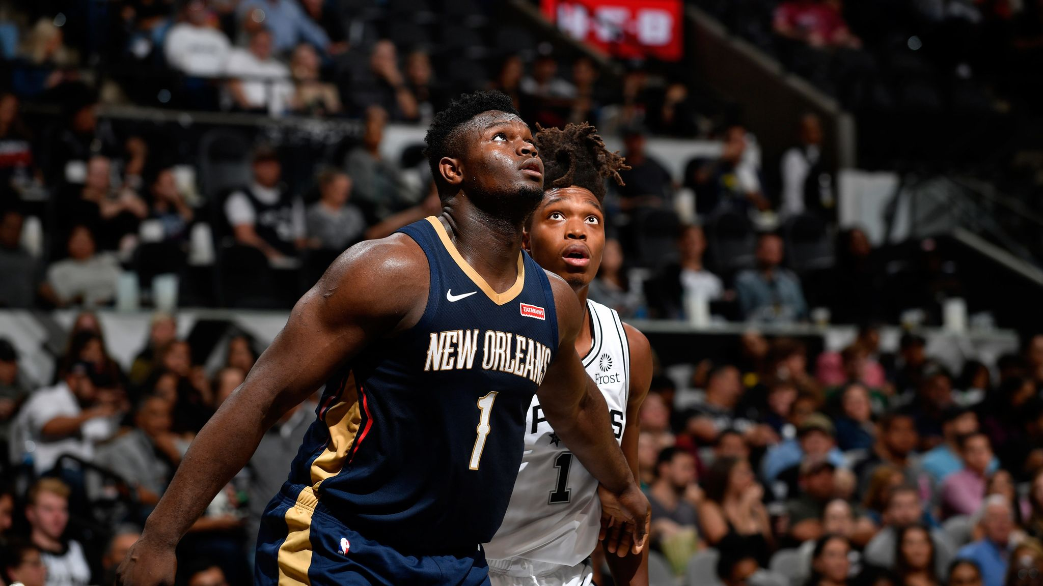 New Orleans Pelicans uncertain when Zion Williamson will be cleared to play again