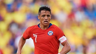 fifa live scores - Alexis Sanchez suffers ankle injury on Chile duty