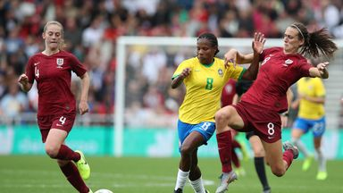 fifa live scores - Jill Scott withdraws from England Women's squad due to ankle strain