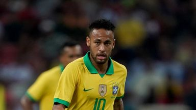 fifa live scores - Neymar limps off with injury in Brazil draw against Nigeria