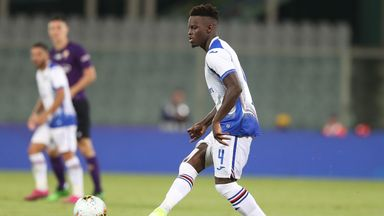 Ronaldo Vieira was targeted in Sampdoria's Serie A clash with Roma