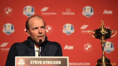 Steve Stricker hopes to lead USA to only their third win of the century