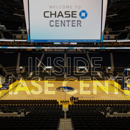 Inside Chase Center