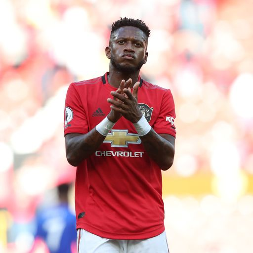 Ole: Fred to replace Pogba 'for a while'