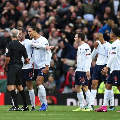 Ref Watch: VAR right not to overrule decision