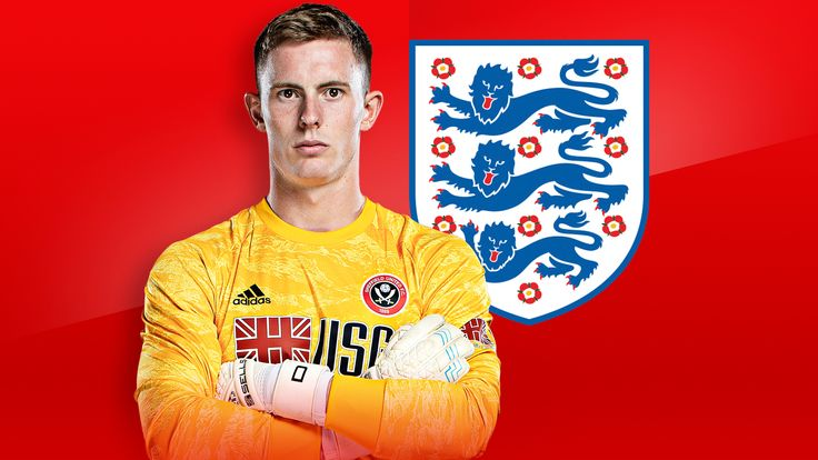 Dean Henderson has received his first full England call-up
