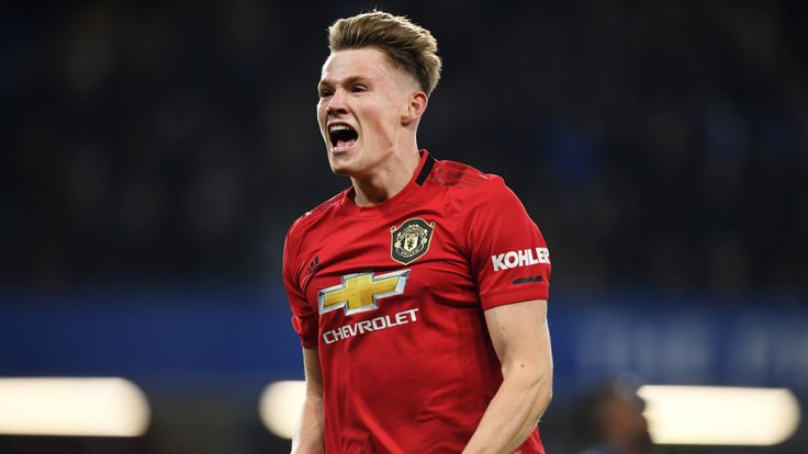 Scott Mctominay Growing As Manchester United Enforcer And Leader Football News Sky Sports