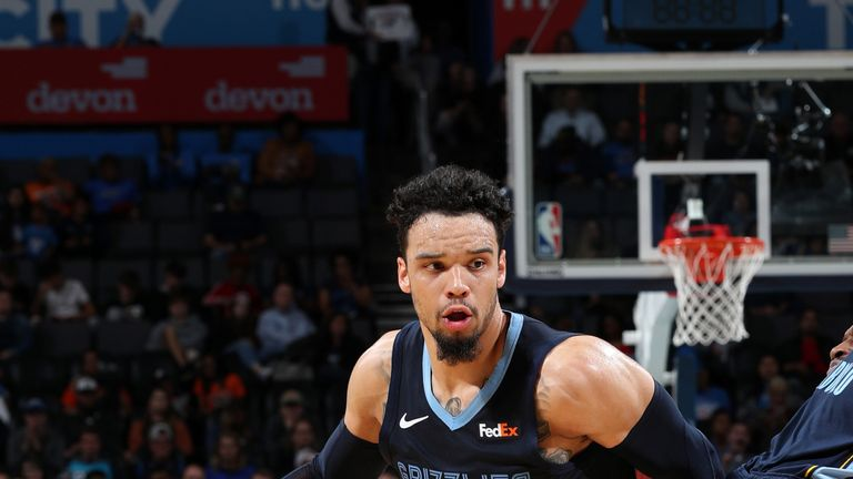 Dillon Brooks in action for the Memphis Grizzlies