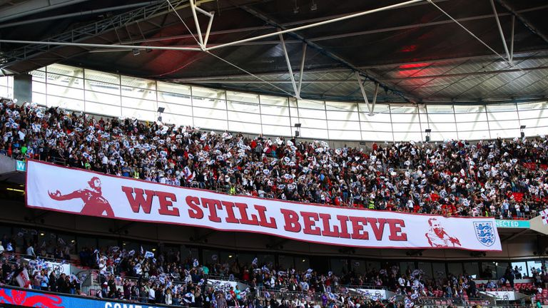 England fans have been praised by Kevin Miles for their behaviour away from Wembley